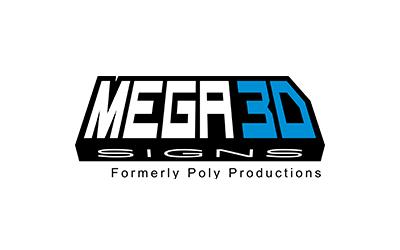 Mega 3D Signs